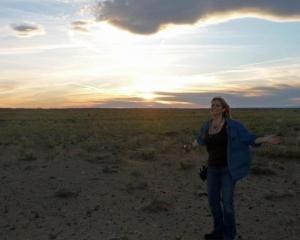 michelle-solo-sunset