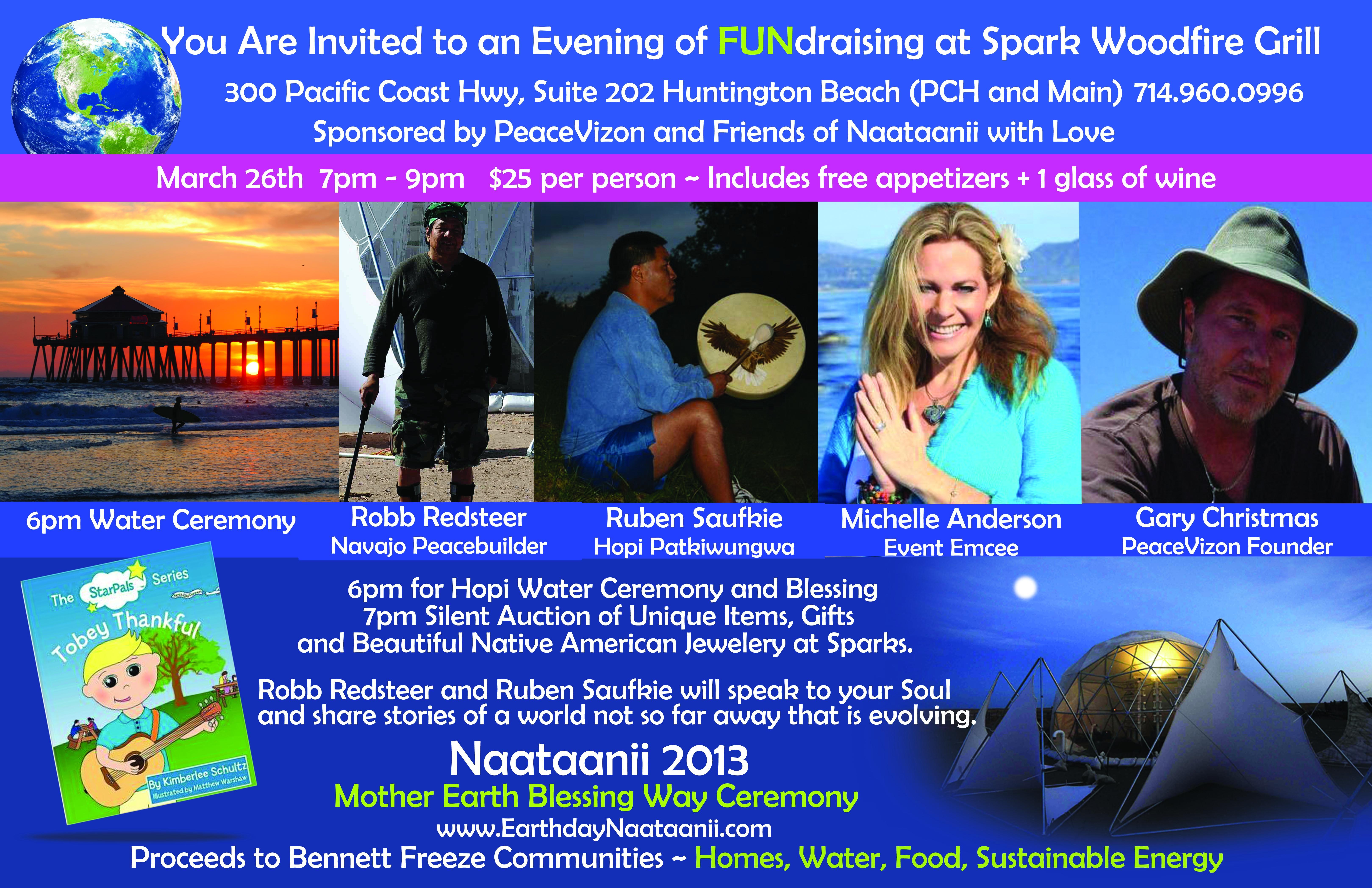 Fundraiser f Mar 26